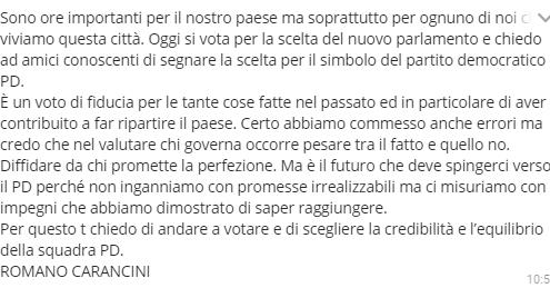 carancini-messaggio-multiple-elezioni