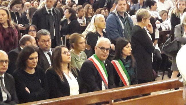 romano-carancini-virginia-raggi-funerale-funerali-pamela