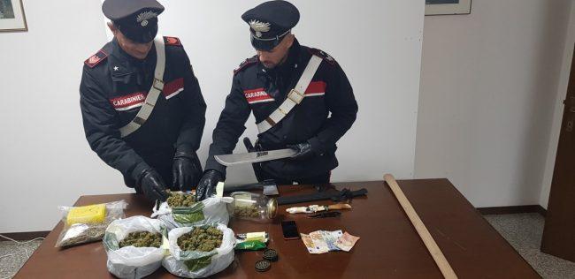 arresto-recanati-19enne-machete-ascia-marijuana-650x316