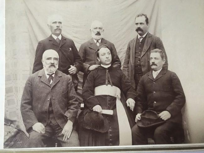 Pietro-Gasparri-con-i-suoi-fratelli-in-alto-a-destra-Bartolomeo-nonno-di-Filippo-Gasoarri