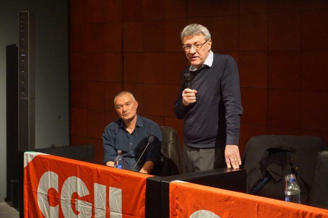 Maurizio-Landini-e-Daniel-Taddei