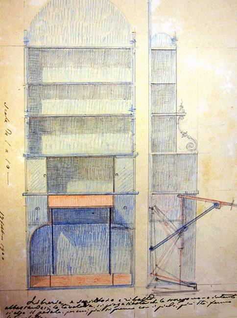 TASSARA-1900-LIBRERIA-CON-PIANO-SCRITTOIO-A-SCOMPARSA-484x650
