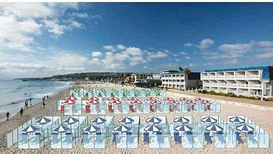 plexiglass-spiaggia