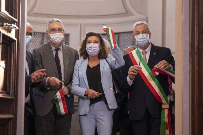Presidente-Regione-Marche-Luca-Ceriscioli-Olimpia-Leopardi-Sindaco-Recanati-Antonio-Bravi-