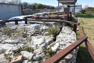 antiche tombe pietre reperti archeologici depuratore atac – civitanova – FDM (4)