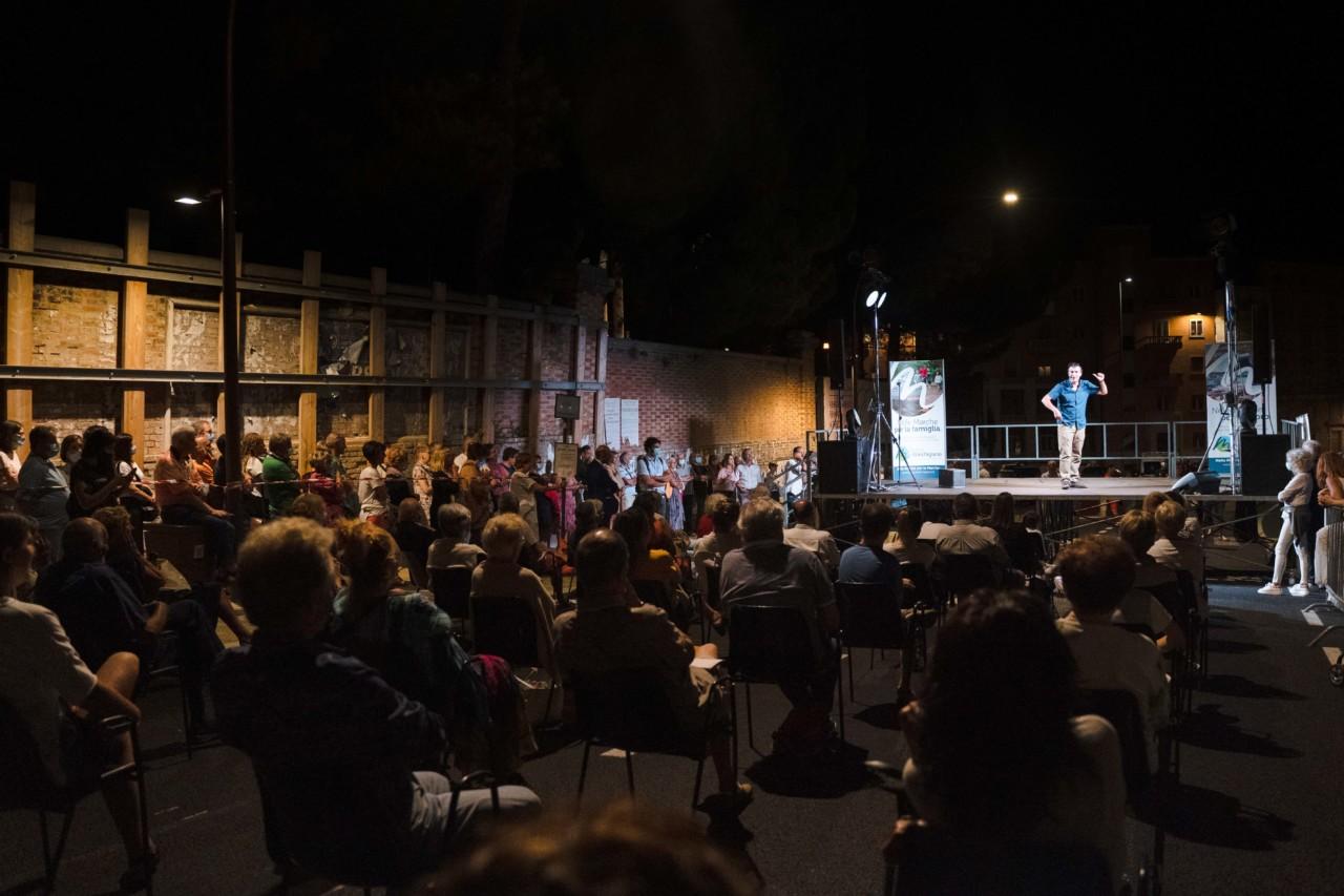 notte dell'opera corso cavour e martiri della libertà macerata 2020 foto ap (27)