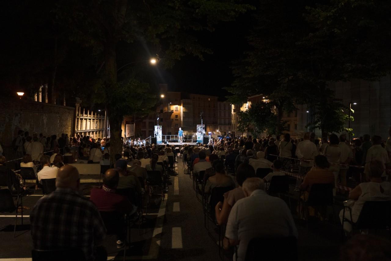 notte dell'opera corso cavour e martiri della libertà macerata 2020 foto ap (29)