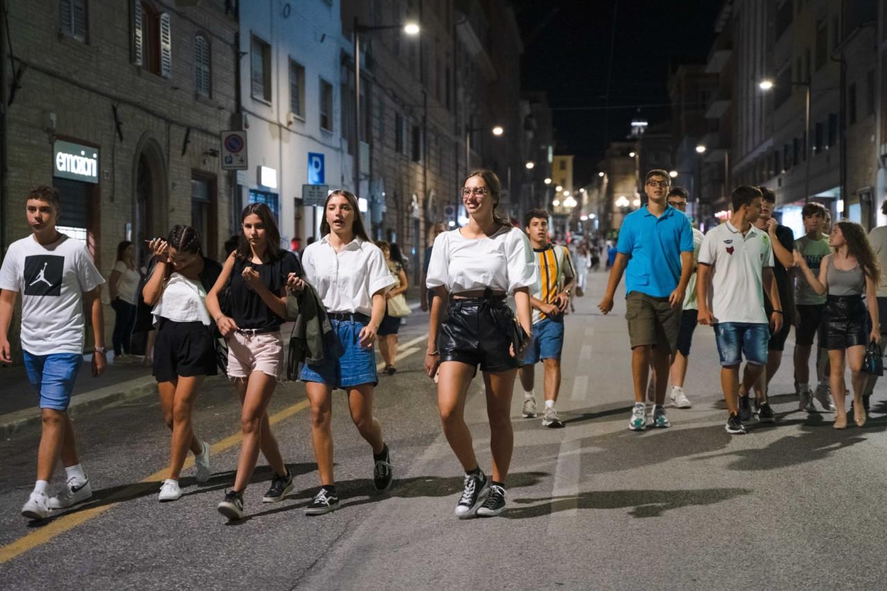 notte dell'opera corso cavour e martiri della libertà macerata 2020 foto ap (49)