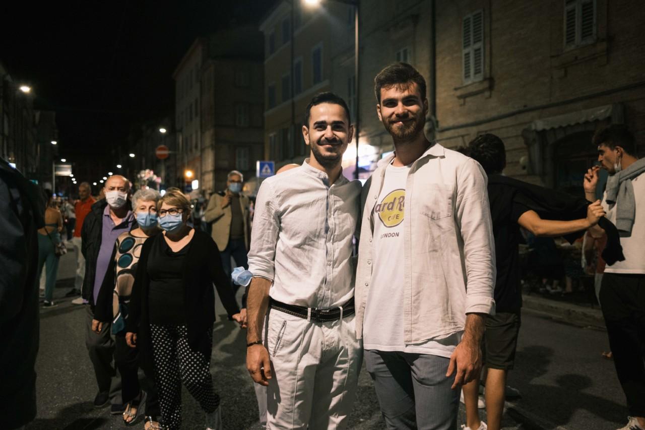 notte dell'opera corso cairoli macerata 2020 foto ap (1)