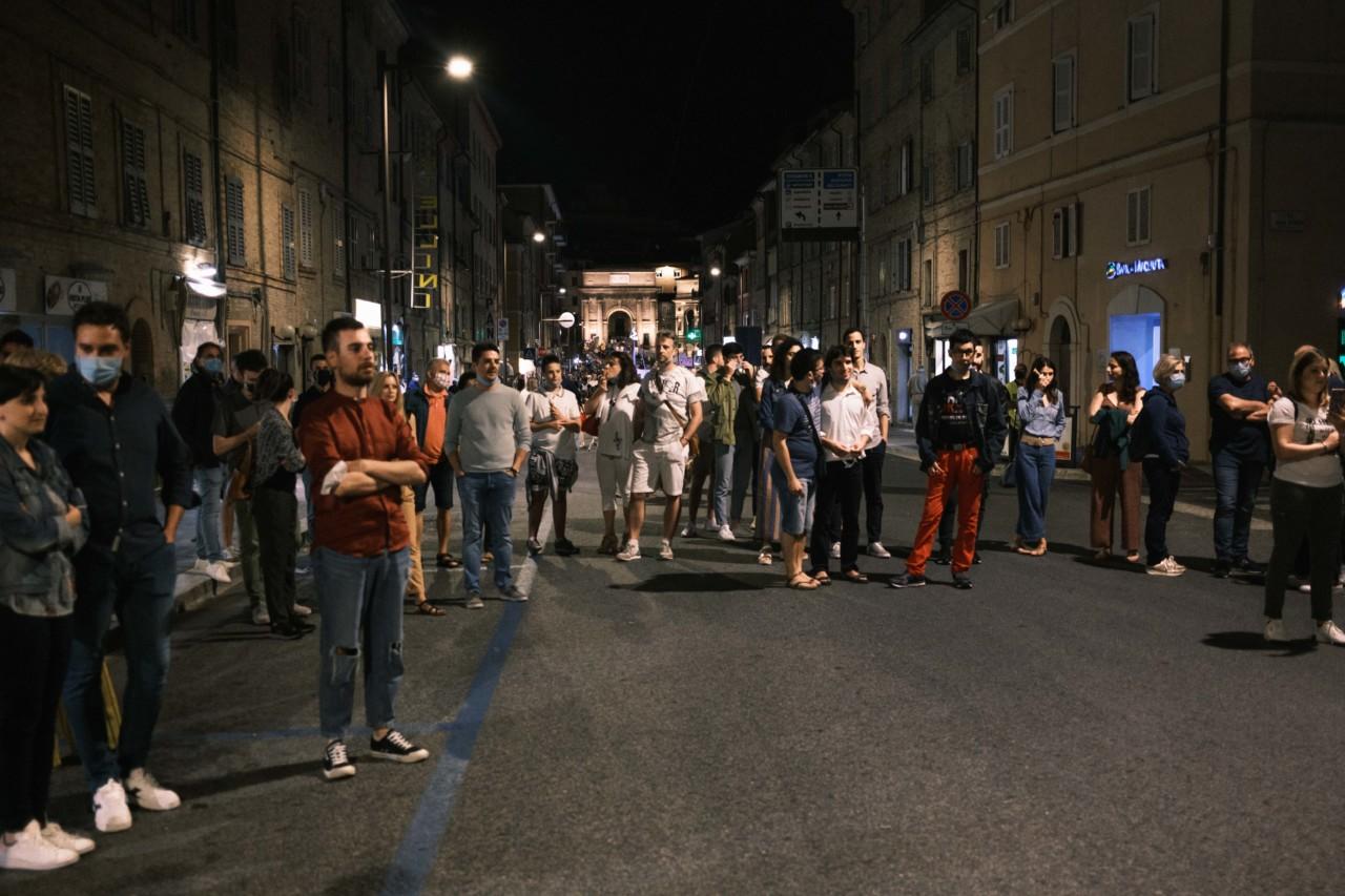 notte dell'opera corso cairoli macerata 2020 foto ap (12)