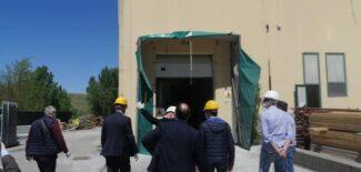 Il-sindaco-Sborgia-con-il-commissario-Legnini-in-visita-al-cantiere-del-mattatoio-lo-scorso-maggio