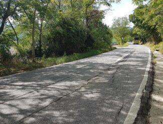 Route provinciale à asphalter, projet d'une valeur de 400 mille euros - Foot 2020