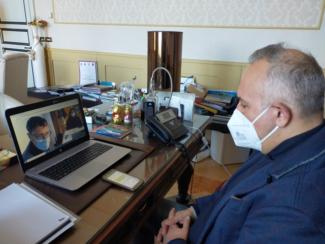 Ciarapica-in-video-call