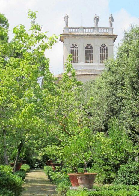 Villa Gigli - particolare del giardino