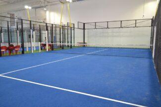 Campo indoor padel