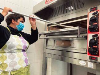 Silvia in cucina