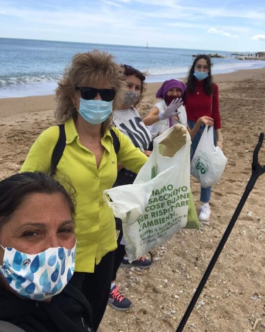 Il gruppo CleanUp a Porto Recanati