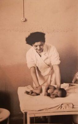Clorinda Cestarelli in una foto d'epoca