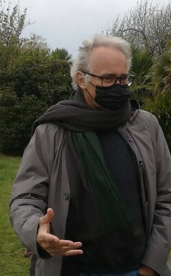 Il regista Gianfrancesco Lazotti