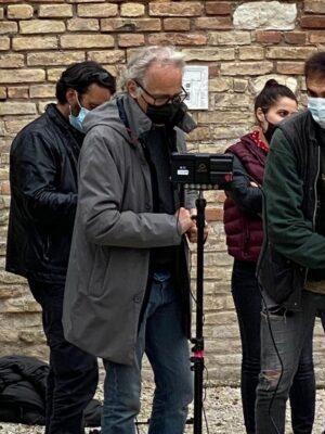 Il regista Lazotti all'Arena Gigli