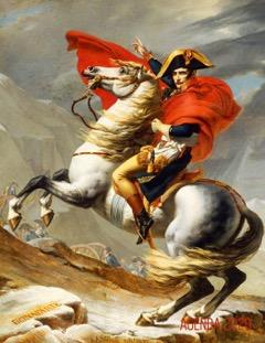 Napoleone-Bonaparte-di-Jaques-Louis-David