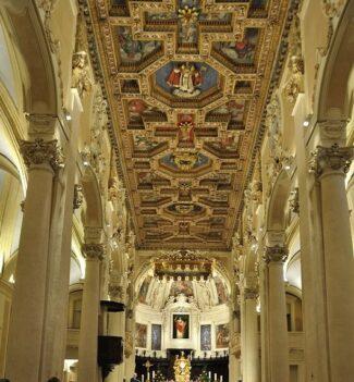 Interno della cattedrale San Flaviano a Recanati