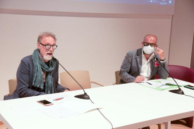 Giorgio Pietrani e Riccardo Sacchi
