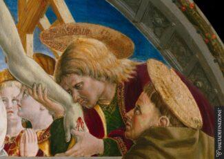 Un-particolare-dellAnnunciazione-di-Girolamo-di-Giovanni