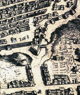 MAPPA-FLORIANI-1618-BASTIONE-CINQUECENTESCO-DI-P-MERCATO