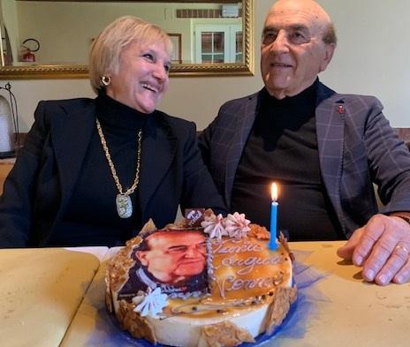 Ezio Colò e Rosella Pescetti in una foto recente