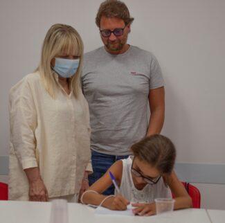 Rosa Piermattei, Michele e Mia Bosco