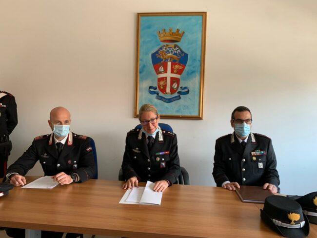 luogotenente-Massimiliano-Lucarelli-capitano-Giulia-Maggi-e-tenente-Federico-Pellegrini